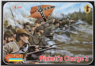 Strelets 1/72 ST0178 Pickett's Charge 3 (ACW)